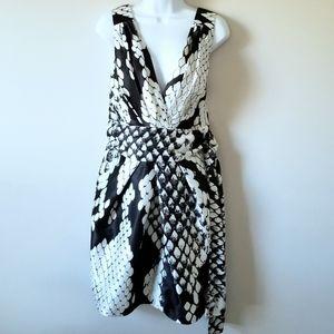 Alexia Admor Black and White Cocktail Dress